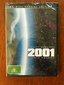 2001 A Space Odyssey DVD 2 Disc Special Edition Region 4 New & Sealed Kubrick