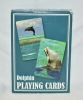 Gibson Vintage Deck DOLPHIN Photo Playing Cards Games NEW 2 Jokers