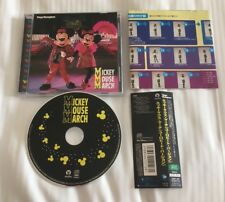 TOKYO DISNEYLAND DISNEY MICKEY MOUSE MARCH CD OOP WITH OBI AND INSERTS