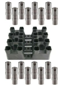 16 Hydraulic Lifters & 4 Guide Trays REPLACE GM OEM# HL124/12595365 V8