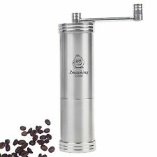 Manual Coffee Grinder with Stainless Steel Conical Burr Portable and Adjustable