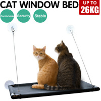 Up 26KG Cat Bed Basking Window Hammock Perch Cushion Bed Hanging Shelf Seat Cat
