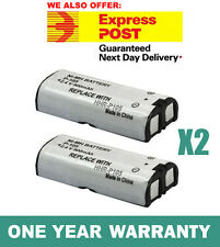 2x 900mAh Battery for Panasonic HHR-P105 HHR-P105A Cordless Phone Ni-MH 2.4V