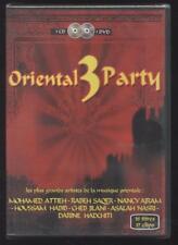 NUEVO 1 CD + 1 DVD oriental 3 PARTY el +. grandes artistas de la música oriental