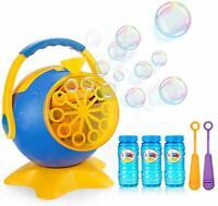 Apiker Bubble Machines for Kids, Automatic Bubble Maker Toy Octopus Shape