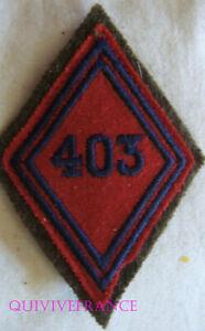 IN18253 - Diamond de Bras 403° Regiment D'Artillery Anti-aircraft