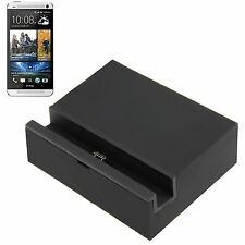 DOCK DOCKING STATION CARICABATTERIA CARICA MICRO USB per HTC ONE 2 M8