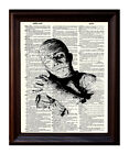 Mummy - Dictionary Art Print Printed On Authentic Vintage Dictionary Book Page