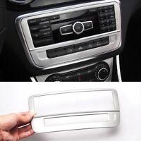 Radio Radio Rahmen Blende Veredelung Passend Für Mercedes Benz A Klasse GLA CLA