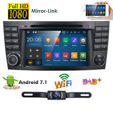 "Android 7.1 7"" Car CD DVD GPS Stereo Radio for Mercedes Benz G/E Class W211 W463"