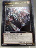 Artorigus, King Of The Noble Knights Ultimate Rare CBLZ-EN086 1st Edition LP ITA