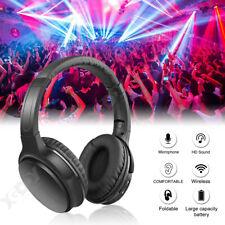 Over-Ear Wireless Headphone Bluetooth Headset Hd Bass Earphone Noise Cancelling