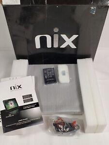 "NIX 12"" Digital Photo Frame X12B 4 GB Memory High Resolution Screen Remote New"