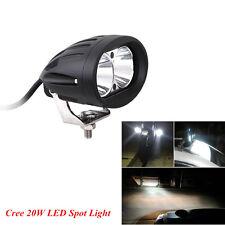 Cree 20W LED Spot Work Light Car SUV Off Road Pickup DRL Driving Fog Light Lamp