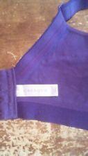 Cacique bra 42ddd bra lined soft cup purple 4 hook closure