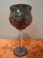 Deco Glass Trophy - Mosaic Design - Height 9 5/8in