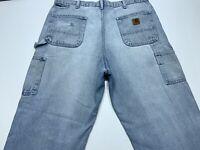 GOOD CONDITION B Details about  /Carhartt Carpenter/'s Jeans Size 42x30 #382-83