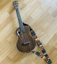 Paisen Electro Acoustic Tenor Ukulele With Built In Tuner