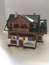 Dept 56 Christmas House - Alpine Village - Besson Bierkeller Beer Cellar