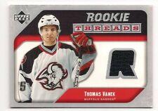 Thomas Vanek 05-06 Upper Deck 2 Rookie Threads Game Jersey