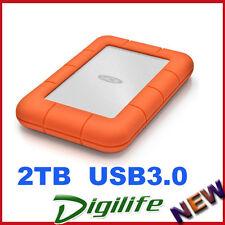 LaCie 2TB Rugged Mini External Mobile Drive USB 3.0 for PC & Mac LAC9000298
