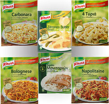 Various Knorr Sauce for Pasta or Meat
