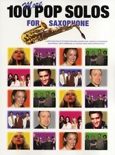 100 More Pop Solos for Saxophone Sax Music Book Songs LEARN ABBA BEATLES ELVIS