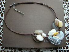Calcite Necklace N2201 Retired! $84 Silpada Sterling Silver, Pearl, Magnesite,