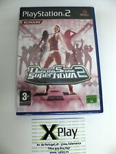 PS2 Dancing Stage Super Nova 2 New Sealed Pal Spain