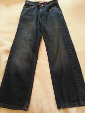 Levis Boy's 569 Loose Straight Jeans Size 14 Slim 25x27