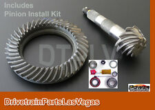 Ring and Pinion Gear Set GM 8.5 8.6 10 Bolt 3.73 Ratio + Pinion Install Kit Pkg