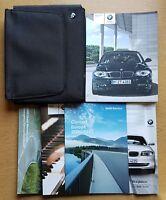BMW 1 SERIES E81 E87 HANDBOOK OWNERS MANUAL WALLET 2007-2011 PACK D-344