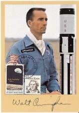 More details for 1987 vip card signed by apollo 7 lunar module pilot walt cunningham