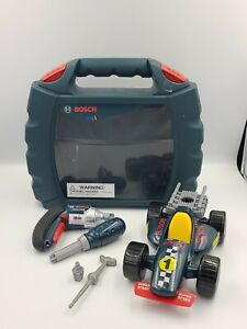 Bosch Grand Prix Car with Ixolino Case Toy Drill & Screwdriver Tested Working