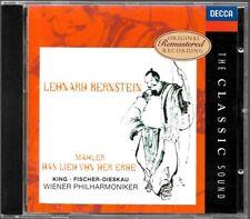 ALBUM CD / MAHLER : DAS LIED VON DER ERDE - LEONARD BERNSTEIN / DECCA