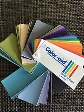 Color-aid Swatch Book 314 Colors New