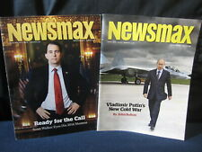 Newsmax Magazines April 2014 and February 2015 Scott Walker Vladimir Putin