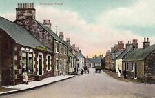 Kirknewton Village Livingston Post Office unused old pc J R Russell Edinburgh