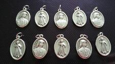 10x St Faustina charms Catholic Saint charm Vatican City medal medallion Italy