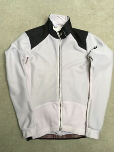 Used White Assos 851 Winter Cycling  Airblock Jacket Size Large