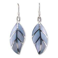 Orecchini di lusso blu pendente in argento sterling