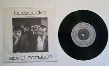 """Buzzocks-graffio di spirale, 1979 Punk/punk rock raro 7"""" VINILE Org 001 In buonissima condizione con."""