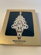 Wedgwood Jasperware Christmas Tree Boxed Ornament New Boxed!