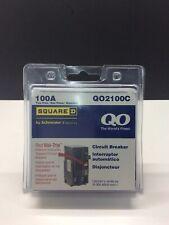 Square D Qo2100c Miniature Circuit Breaker 100 A 2 Pole 120240 Vac New