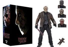 "Neca Freddy Vs Jason, 7"" Ultimate Jason Figure (Brand New)"