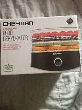 Chefman Electric Multi-Tier Food Preserver 5 Trays Round Food Dehydrator Blk