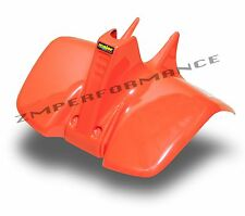 NEW SUZUKI LT50 84 - 87 QUADRUNNER PLASTIC ORANGE FRONT FENDER LT 50 PLASTICS