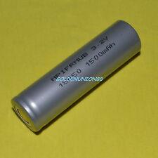 LiFe 18650 LiFePO4 IFR18650 3.2V 1500mAh Li-ion Li phosphate battery for energy