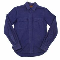 KRIS VAN ASSCHE and Lee Cotton snap button shirt Size 44(K-31953)