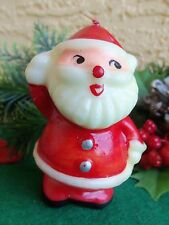 """Vintage Colonial Candle Co. Santa Claus 3"""" Tall Made In Japan"""